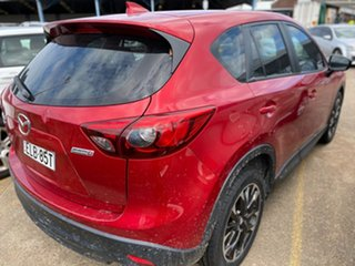2015 Mazda CX-5 KE1022 Grand Touring SKYACTIV-Drive AWD Red 6 Speed Sports Automatic Wagon