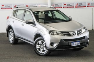 2013 Toyota RAV4 ZSA42R GX (2WD) Silver Pearl Continuous Variable Wagon.