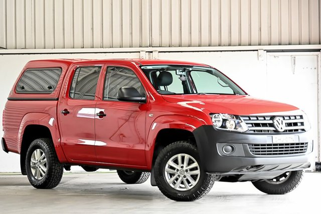 Used Volkswagen Amarok 2H MY16 TDI420 4MOTION Perm Core Laverton North, 2016 Volkswagen Amarok 2H MY16 TDI420 4MOTION Perm Core Red 8 Speed Automatic Utility