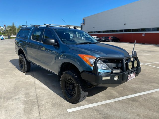 Used Mazda BT-50 Morayfield, 2012 Mazda BT-50 XT UP0YF1 Blue 6 Speed Auto Active Select Dual Cab