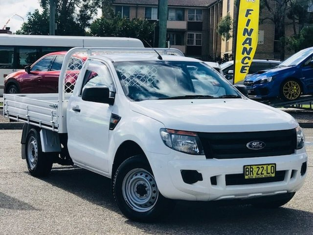 Used Ford Ranger PX XL Liverpool, 2012 Ford Ranger PX XL White 6 Speed Manual Utility