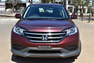2012 Honda CR-V RM VTi Burgundy 5 Speed Automatic Wagon.