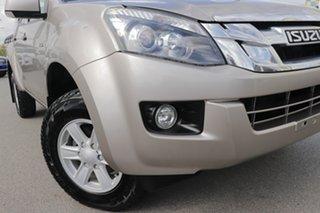 2014 Isuzu D-MAX MY14 LS-M Crew Cab Ash Beige 5 Speed Sports Automatic Utility.