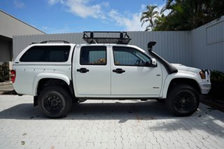 2008 Holden Colorado RC LX Crew Cab White 5 Speed Manual Utility.