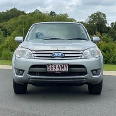 2008 Ford Escape ZC XLT Silver 4 Speed Automatic SUV.