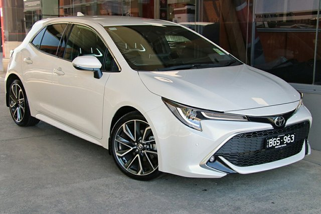 Pre-Owned Toyota Corolla Mzea12R ZR Preston, 2020 Toyota Corolla Mzea12R ZR Crystal Pearl 10 Speed Constant Variable Hatchback