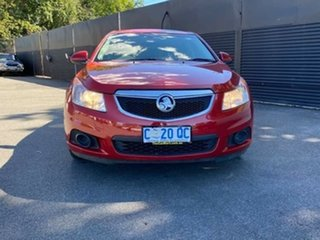 2012 Holden Cruze JH Series II MY12 CD Red 6 Speed Sports Automatic Hatchback.
