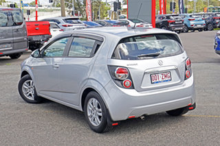 2015 Holden Barina TM MY16 CD Silver 6 Speed Automatic Hatchback.