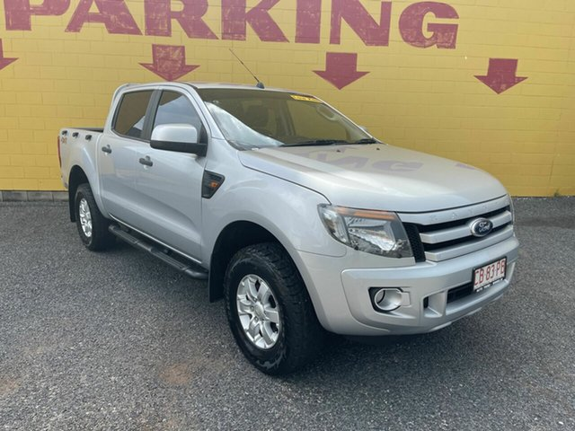 Used Ford Ranger PX MkII XLS Double Cab Winnellie, 2015 Ford Ranger PX MkII XLS Double Cab Silver 6 Speed Sports Automatic Utility