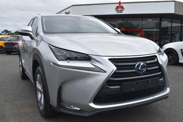 Used Lexus NX AYZ15R NX300h E-CVT AWD Sports Luxury Wantirna South, 2014 Lexus NX AYZ15R NX300h E-CVT AWD Sports Luxury Silver 6 Speed Constant Variable Wagon Hybrid