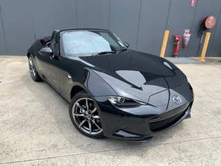 2020 Mazda MX-5 ND GT SKYACTIV-MT Jet Black 6 Speed Manual Roadster.