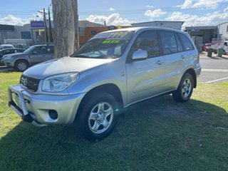 2004 Toyota RAV4 ACA23R CV Silver 5 Speed Manual Wagon.