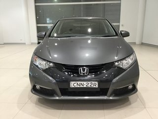 2012 Honda Civic 9th Gen VTi-L Grey 5 Speed Sports Automatic Hatchback