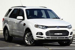 2011 Ford Territory SZ TS Seq Sport Shift White 6 Speed Sports Automatic Wagon.