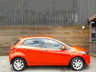 2008 Mazda 2 DE10Y1 Maxx Red 4 Speed Automatic Hatchback.