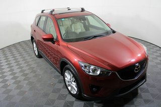 2013 Mazda CX-5 KE1021 MY13 Akera SKYACTIV-Drive AWD Red 6 Speed Sports Automatic Wagon.