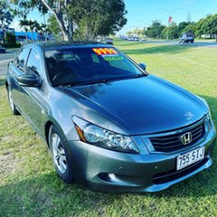 2010 Honda Accord 8th Gen MY10 VTi Grey 5 Speed Sports Automatic Sedan