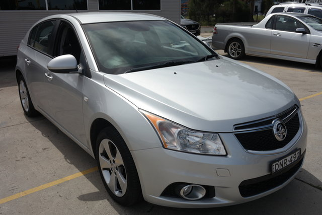 Used Holden Cruze JH Series II MY14 Equipe Maryville, 2014 Holden Cruze JH Series II MY14 Equipe Silver 5 Speed Manual Sedan