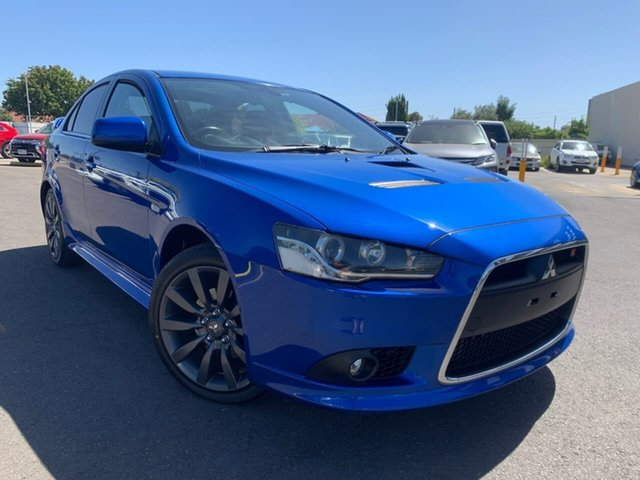 Used Mitsubishi Lancer CJ MY14.5 Ralliart TC-SST Hillcrest, 2014 Mitsubishi Lancer CJ MY14.5 Ralliart TC-SST Blue 6 Speed Sports Automatic Dual Clutch Sedan
