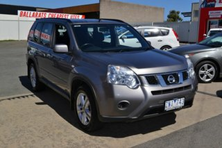2013 Nissan X-Trail T31 Series 5 ST (4x4) Grey 6 Speed CVT Auto Sequential Wagon