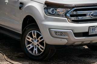2015 Ford Everest UA Trend Cool White 6 Speed Sports Automatic SUV.
