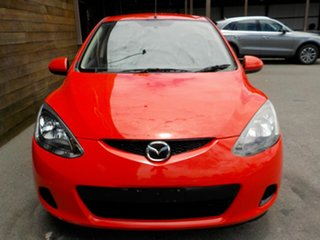 2008 Mazda 2 DE10Y1 Maxx Red 4 Speed Automatic Hatchback