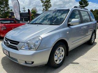 2006 Kia Carnival VQ MY07 EX Silver 4 Speed Sports Automatic Wagon.