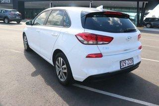 2018 Hyundai i30 PD MY18 Active Ceramic White 6 Speed Manual Hatchback.
