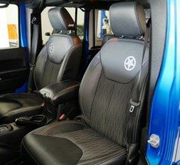 2014 Jeep Wrangler JK MY2015 Unlimited X Blue 5 Speed Automatic Hardtop