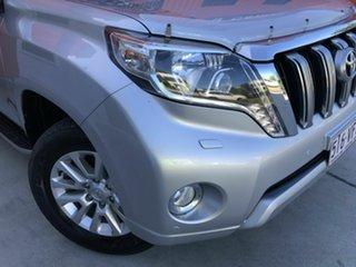 2014 Toyota Landcruiser Prado GRJ150R MY14 VX Silver 5 Speed Sports Automatic Wagon