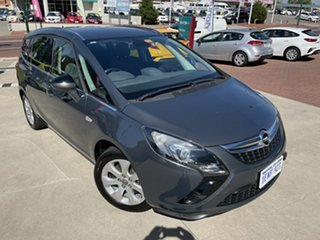 2013 Opel Zafira ZJ Tourer Grey 6 Speed Automatic Wagon.