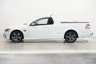 2011 Holden Ute VE II SV6 Thunder White 6 Speed Manual Utility.