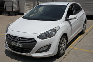 2014 Hyundai i30 GD MY14 Elite White 6 Speed Manual Hatchback.