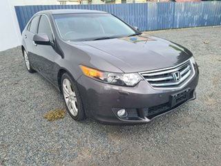 2010 Honda Accord Euro CU MY10 Luxury Grey 5 Speed Automatic Sedan
