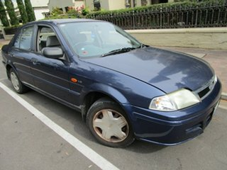 2002 Ford Laser KQ LXI Blue 4 Speed Automatic Sedan.
