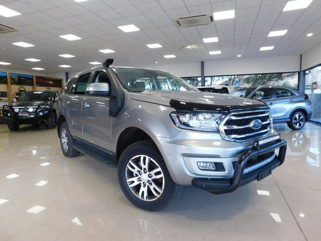 Pre-Owned Ford Everest UA II 2019.75MY Trend Wonthaggi, 2019 Ford Everest UA II 2019.75MY Trend Silver 6 Speed Sports Automatic SUV