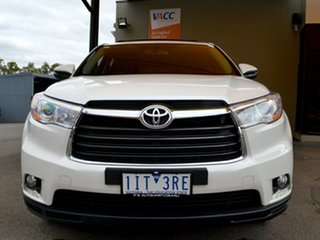 2016 Toyota Kluger GSU55R GX AWD White 6 Speed Sports Automatic Wagon