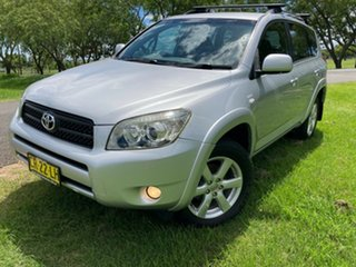 2008 Toyota RAV4 ACA33R MY09 Cruiser Silver Pearl 5 Speed Manual Wagon.