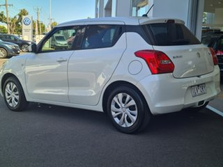 2017 Suzuki Swift GL White Manual Hatchback.