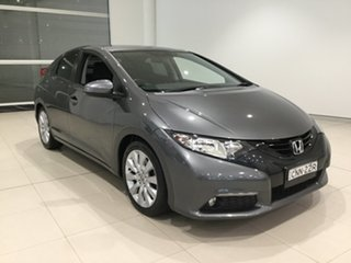 2012 Honda Civic 9th Gen VTi-L Grey 5 Speed Sports Automatic Hatchback.