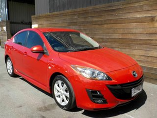 2010 Mazda 3 BL10C1 MY10 MZR-CD Red 6 Speed Manual Sedan.