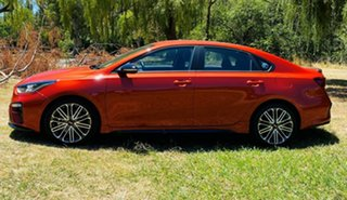 2020 Kia Cerato BD MY21 GT DCT Sunset Orange 7 Speed Automatic Sedan