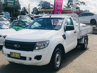 2012 Ford Ranger PX XL White 6 Speed Manual Utility.
