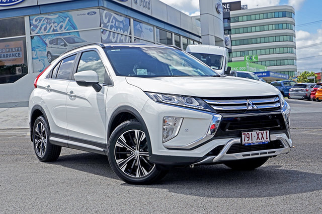 Used Mitsubishi Eclipse Cross YA MY18 Exceed 2WD Springwood, 2017 Mitsubishi Eclipse Cross YA MY18 Exceed 2WD White 8 Speed Constant Variable Wagon