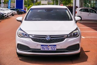 2018 Holden Astra BK MY18.5 RS-V White 6 Speed Sports Automatic Hatchback