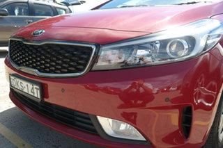 2016 Kia Cerato YD MY17 S Red 6 Speed Sports Automatic Sedan