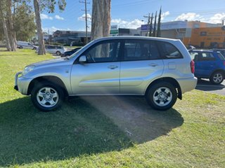 2004 Toyota RAV4 ACA23R CV Silver 5 Speed Manual Wagon