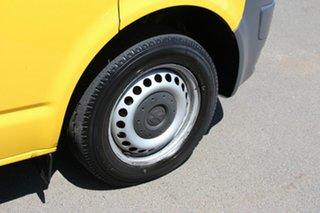 2013 Volkswagen Transporter T5 MY13 TDI340 LWB DSG Yellow 7 Speed Sports Automatic Dual Clutch Van