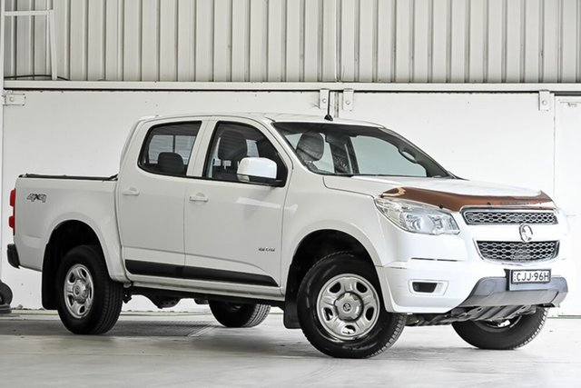 Used Holden Colorado RG MY13 LX Crew Cab Laverton North, 2012 Holden Colorado RG MY13 LX Crew Cab White 6 Speed Sports Automatic Utility