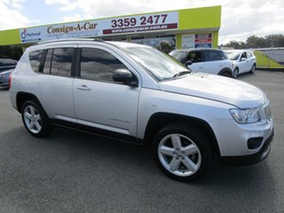 2012 Jeep Compass MK MY13 Limited CVT Auto Stick Silver 6 Speed Constant Variable Wagon.